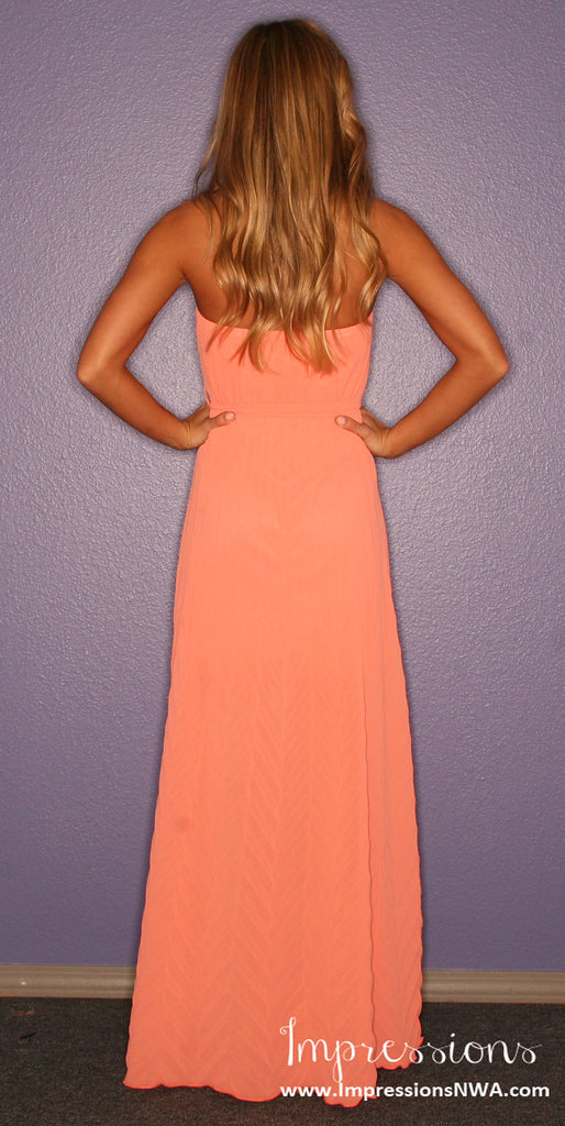 Sunday Funday Maxi in Coral
