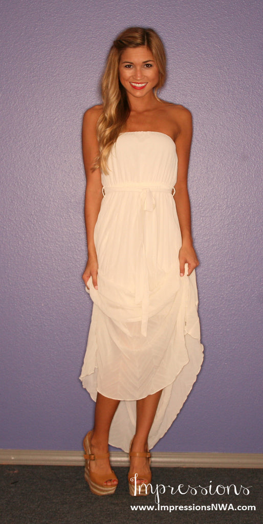 Sunday Funday Maxi in Cream