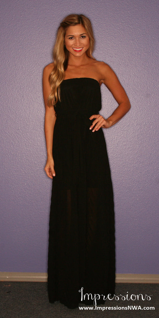 Sunday Funday Maxi in Black