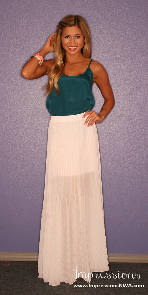 Statement Maker Skirt in Ivory