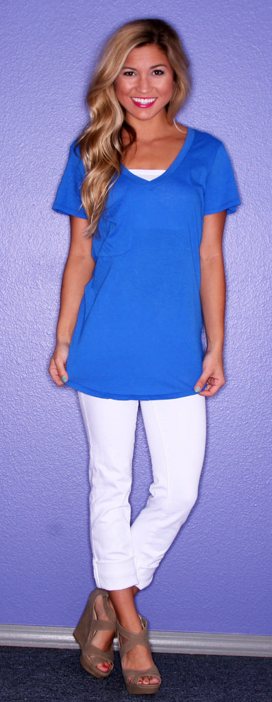 Bobi Lazy Sunday Tee Royal