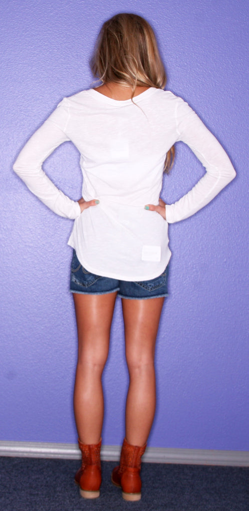 Bobi Comfy Long Sleeve Cream