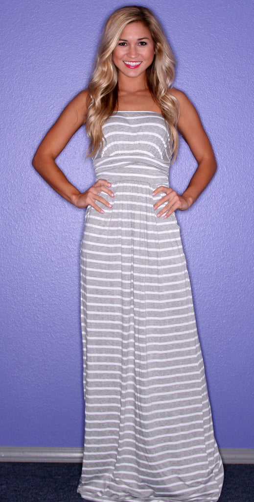 Bay Breeze Maxi Grey