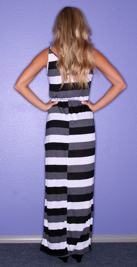 Kiss Me Stripe Black