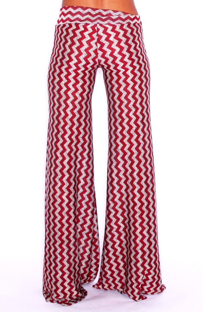 Girl's Trip Pant Burgandy