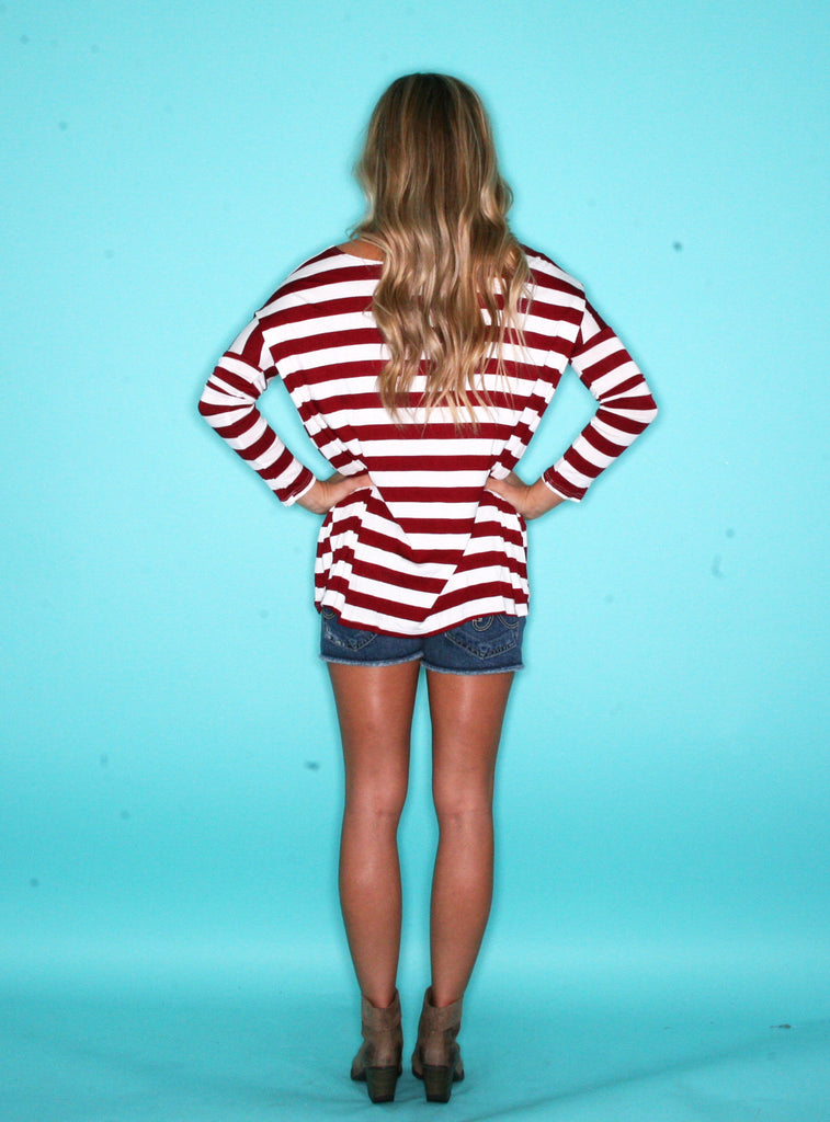 Striped Love Red