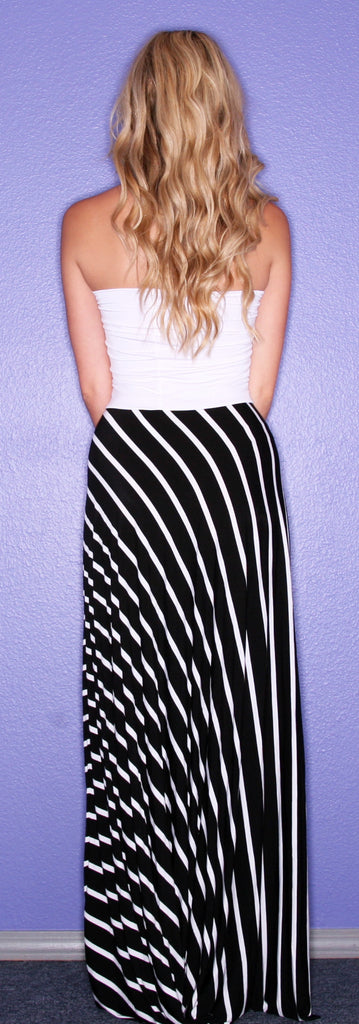 Nautical Runway White/Black
