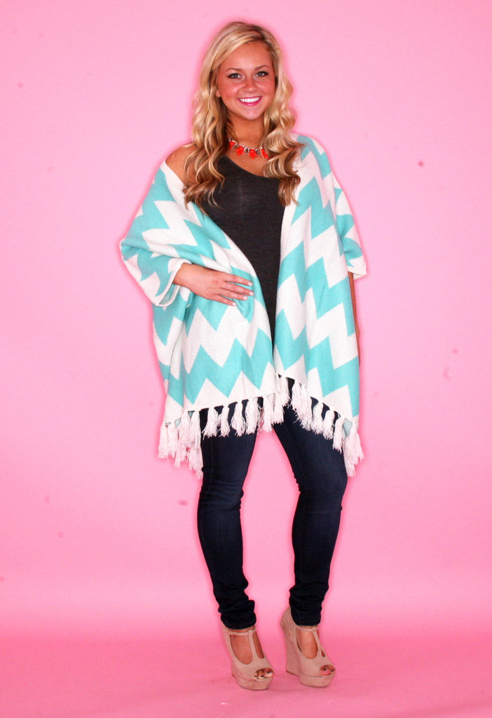 Cozy & Collected Cardi in Blue
