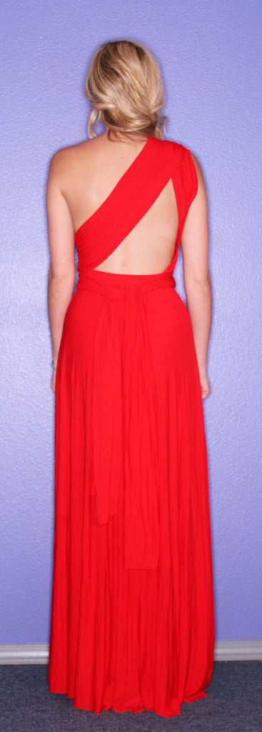 Bahama Girl Maxi Red