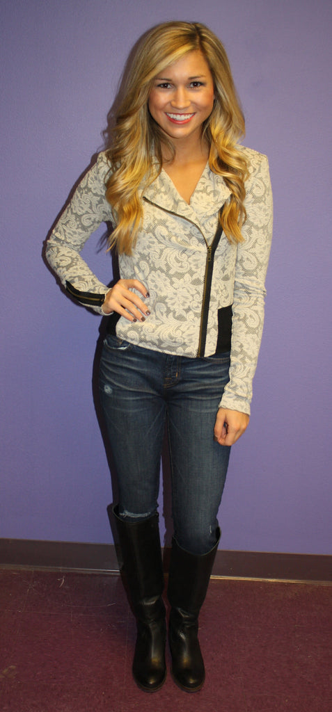 Pretty Girl Lace Blazer