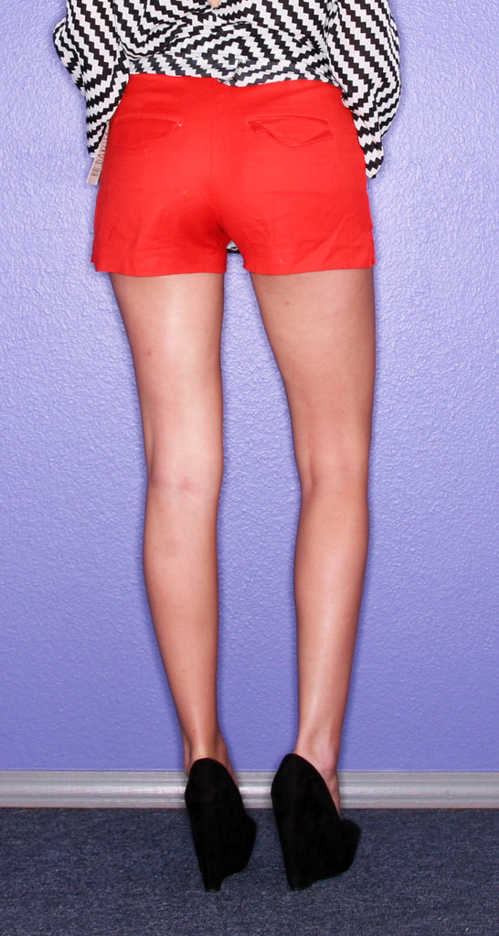 BB Dakota Poppy Red Short