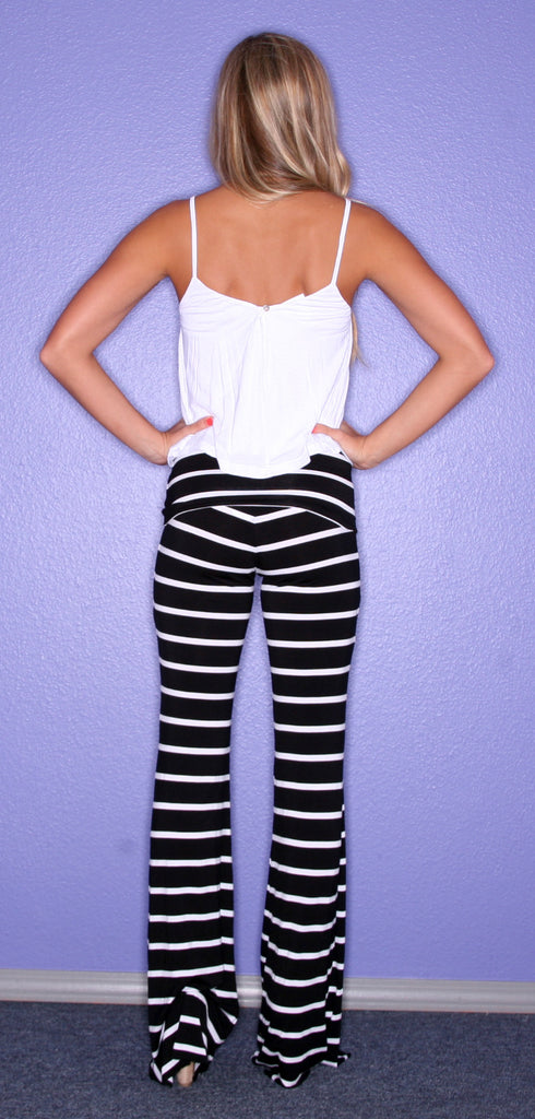 VIP Stripe Black