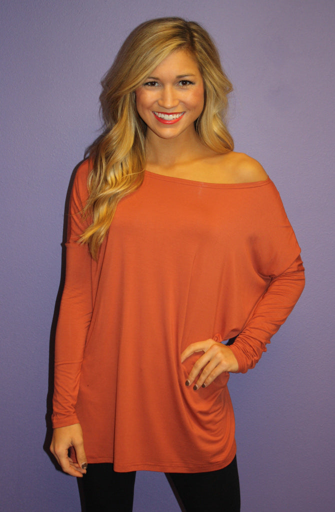 PIKO Tee in Rust
