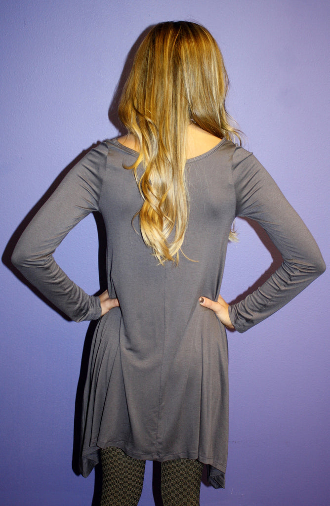 Impress Tunic Dark Grey