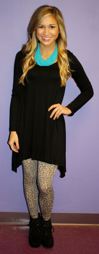 Impress Tunic Black