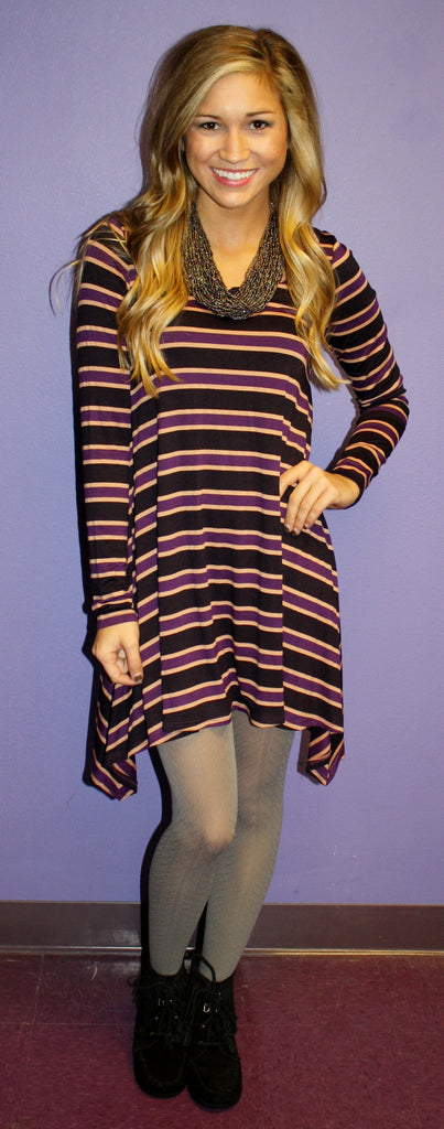 Stripe A Long Tunic