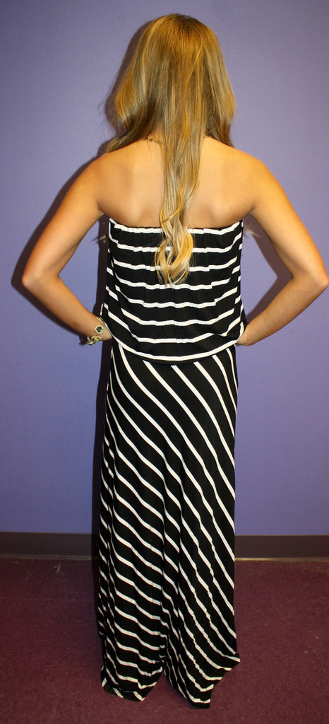 Midnight Stripe Maxi