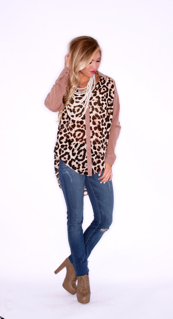 Cheetah Days Mocha