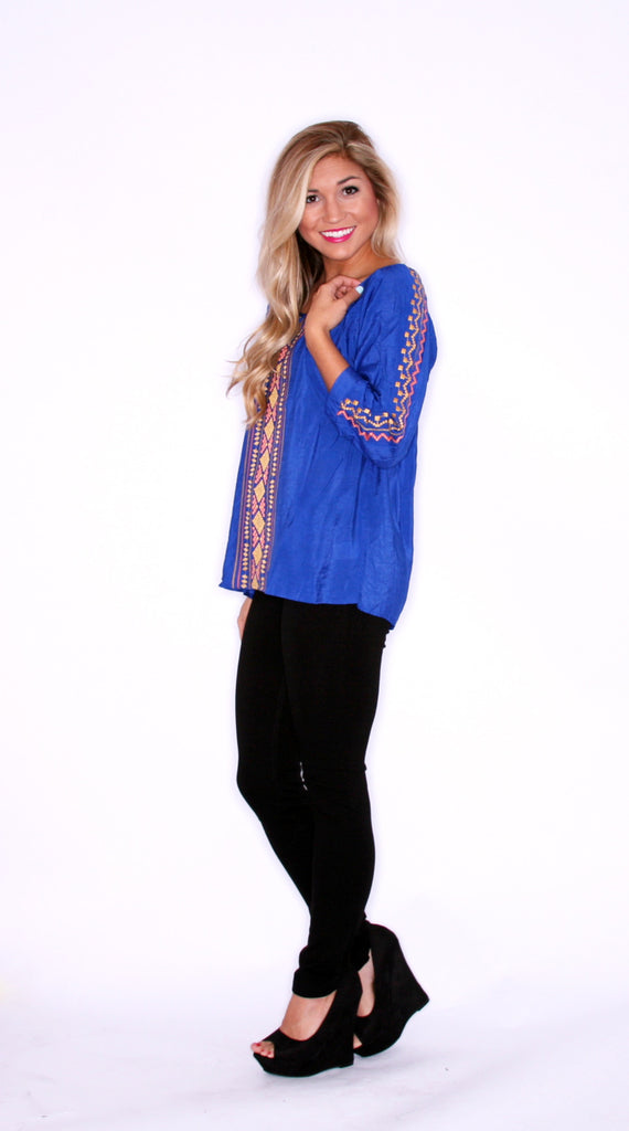 Boho Lovely Blue