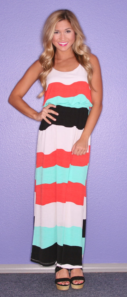 Carribean Dream Maxi Orange