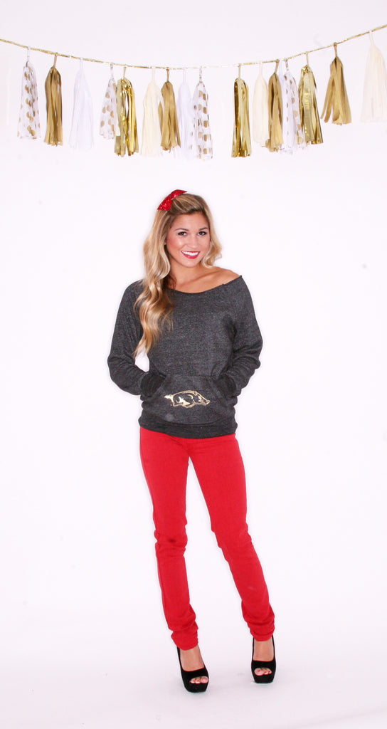 Glam Black Sweatshirt