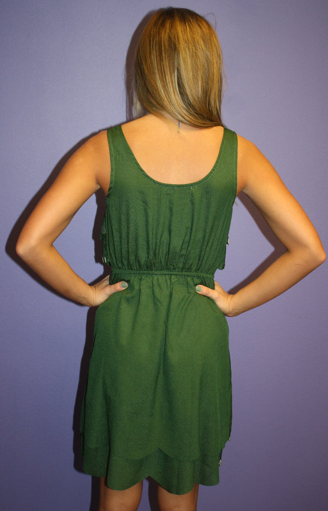 Ruffled & Ready Green