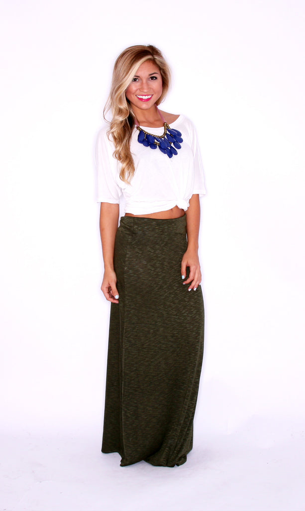 Fashion Week Skirt Olive