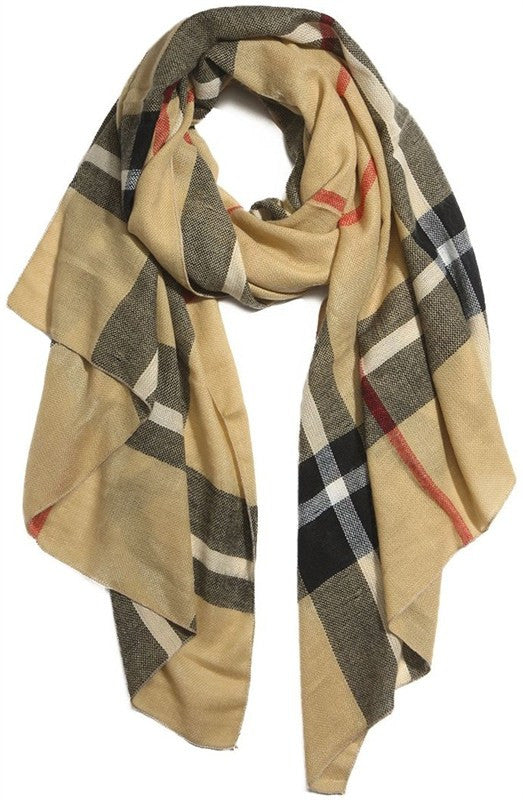 Burr It's Cold Scarf In Beige