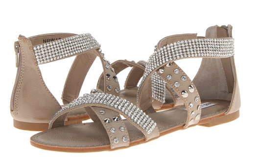 Hot and Fun Sandal in Nude