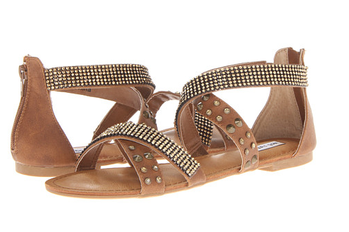 Hot and Fun Sandal in Tan