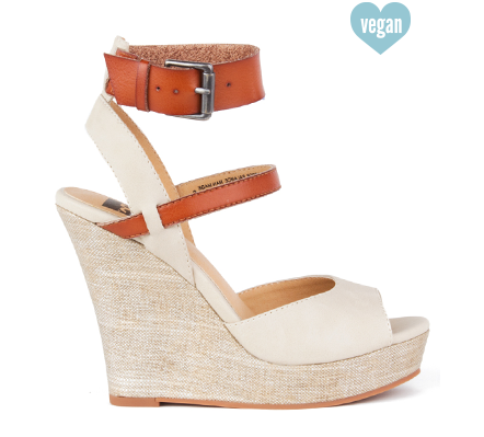 Move It Wedge in Off White