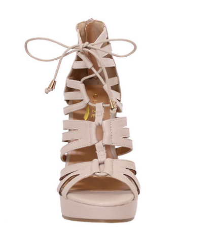Endless Vacay Wedge in Nude