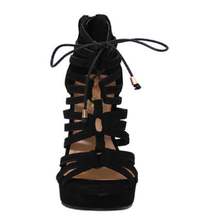 Endless Vacay Wedge in Black