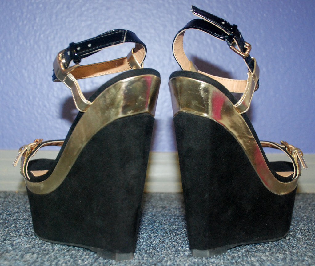 Abbey Road Wedge Black