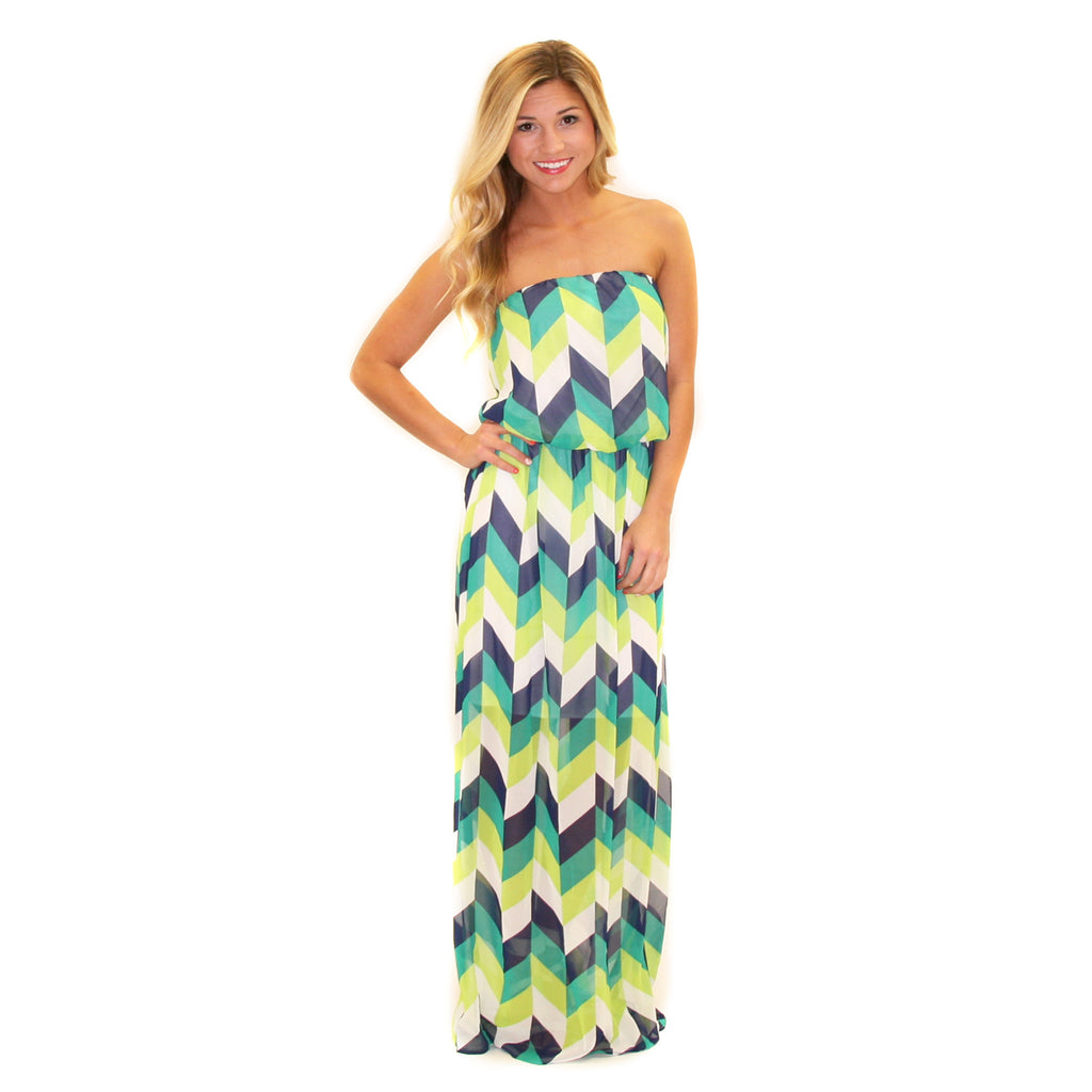 Addicted to Fashion Maxi Green