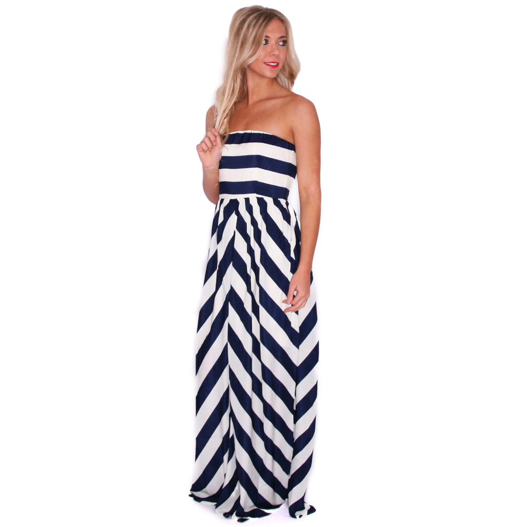 All About The Details Maxi in Navy