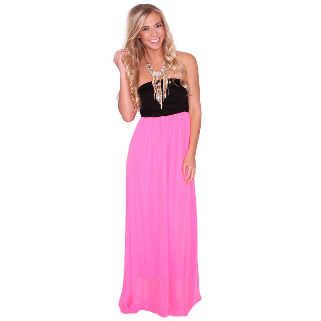 All Summer Long Maxi in Pink
