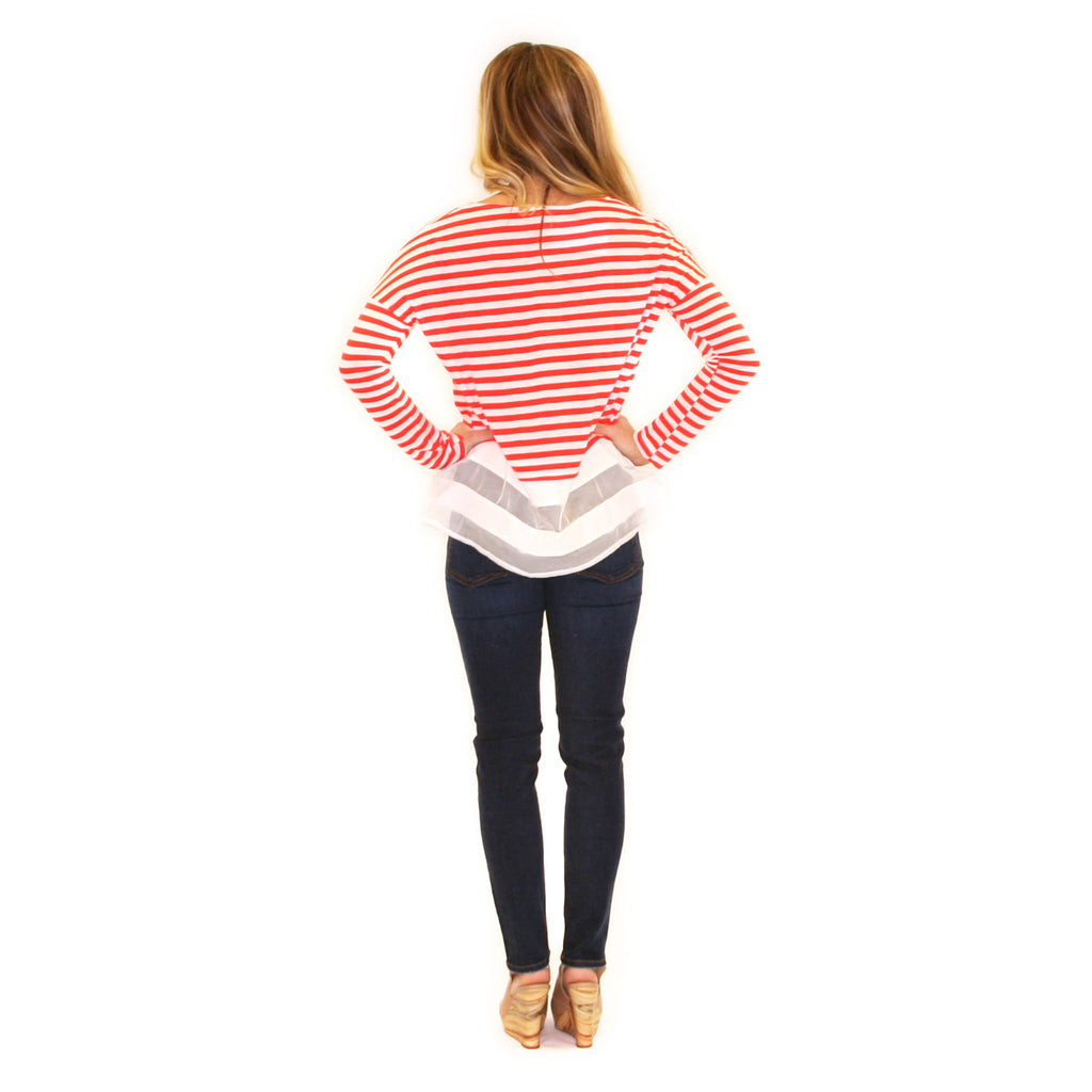Striped Amore Red
