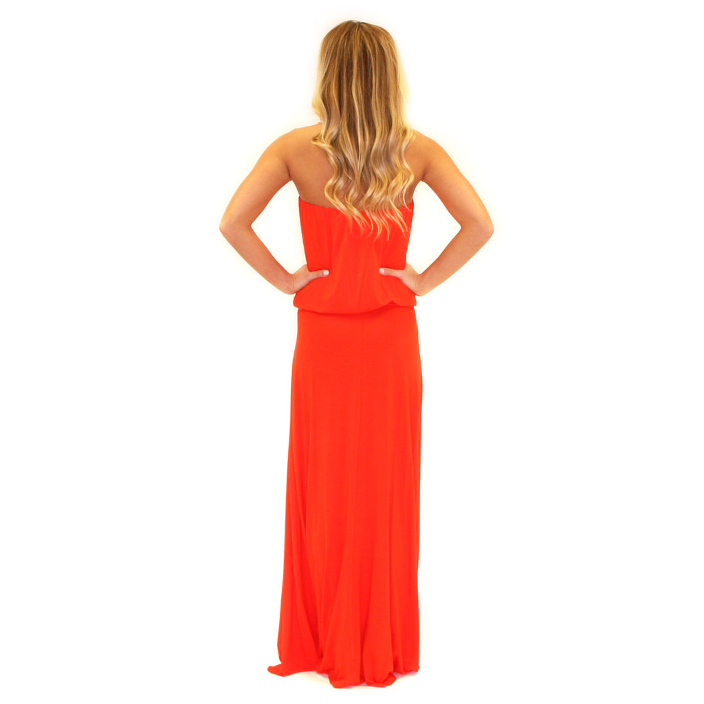 On Island Time Maxi Orange
