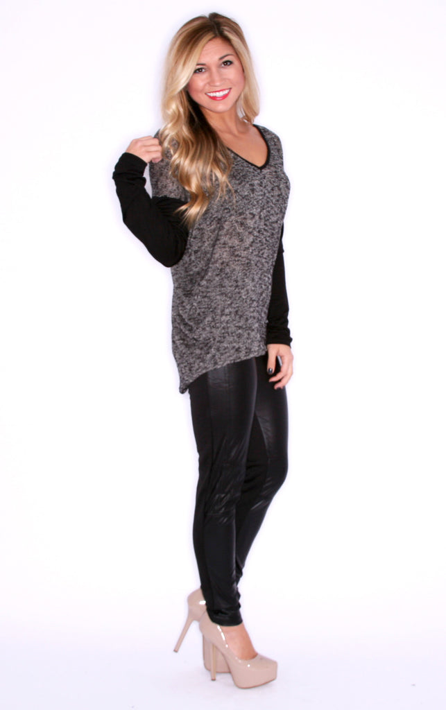 Date Night Legging in Black