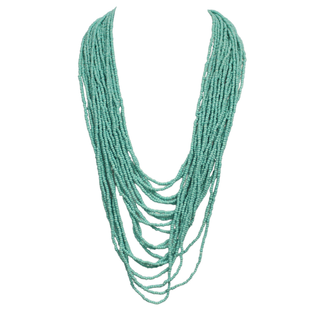 Bahamas Bound Necklace Turquoise