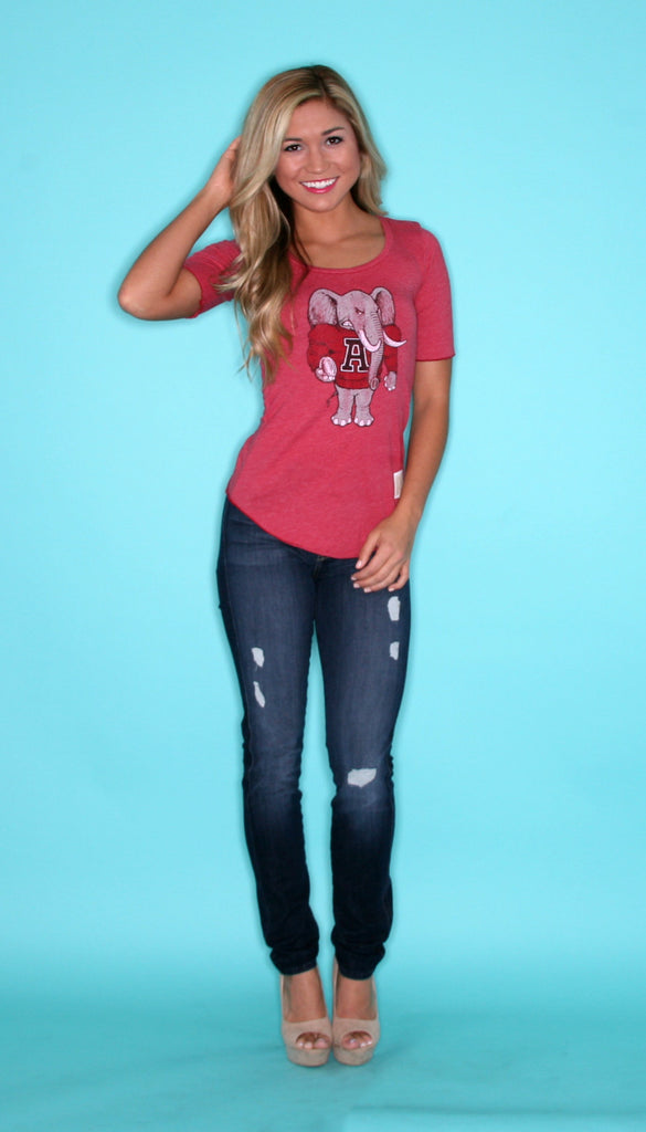Roll Tide Red Tee
