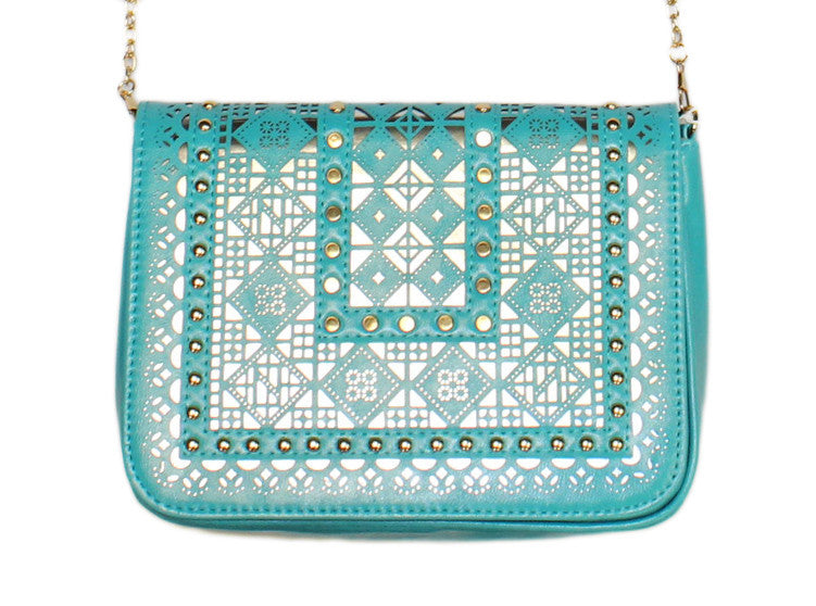 The Bardot Crossbody in Turquoise