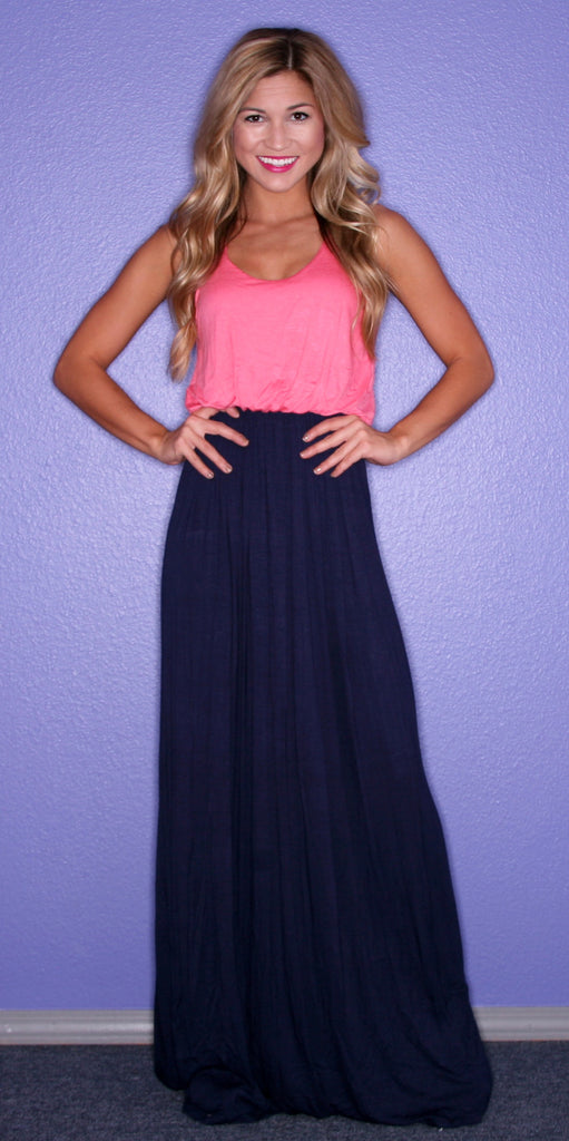 Beachy Keen Maxi in Navy