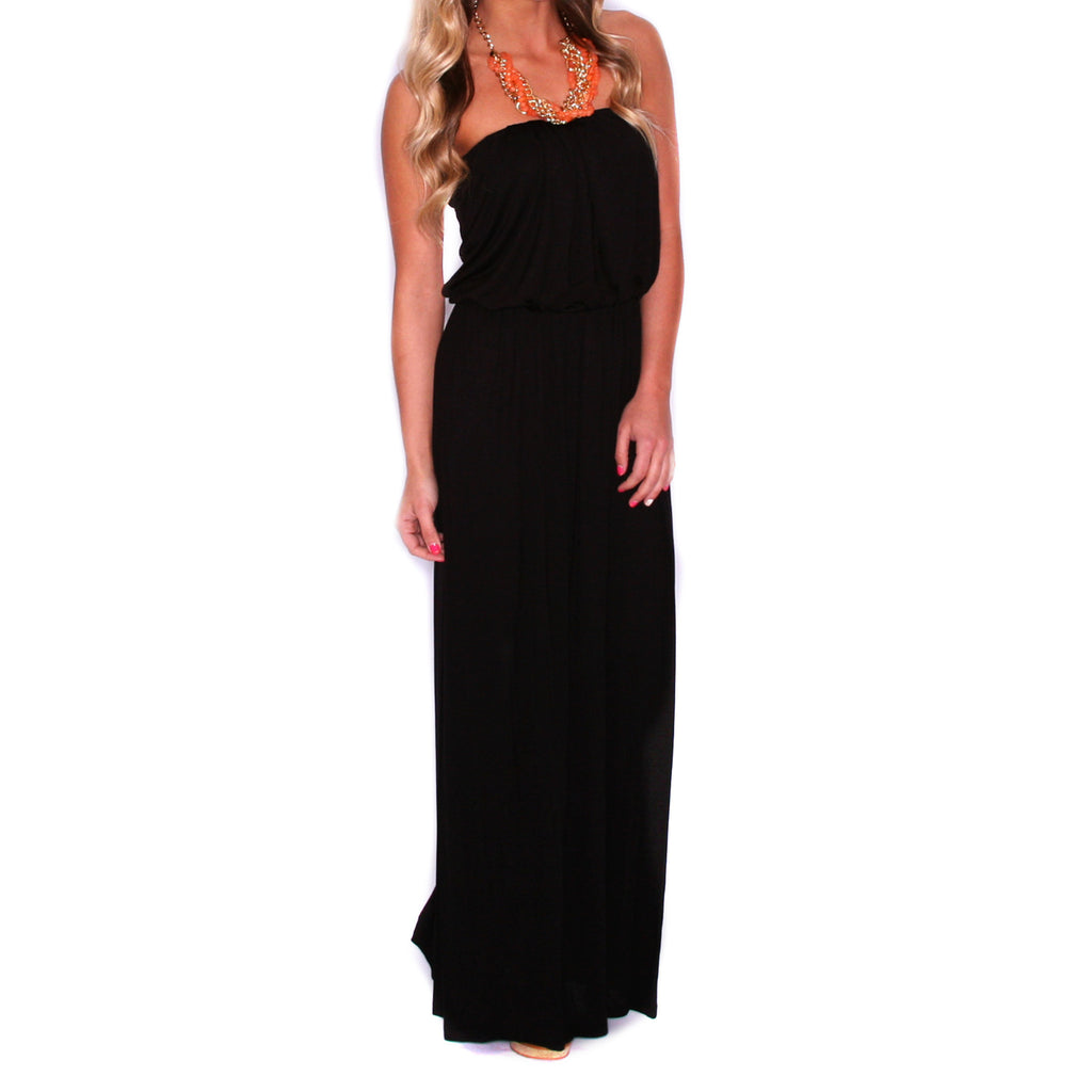 Beachy Waves Maxi Black