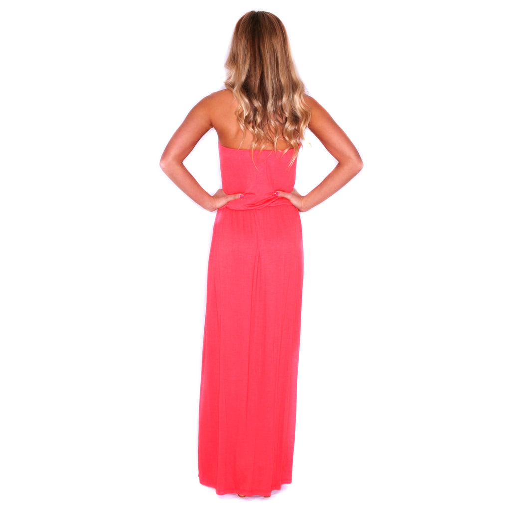Beachy Waves Maxi Coral