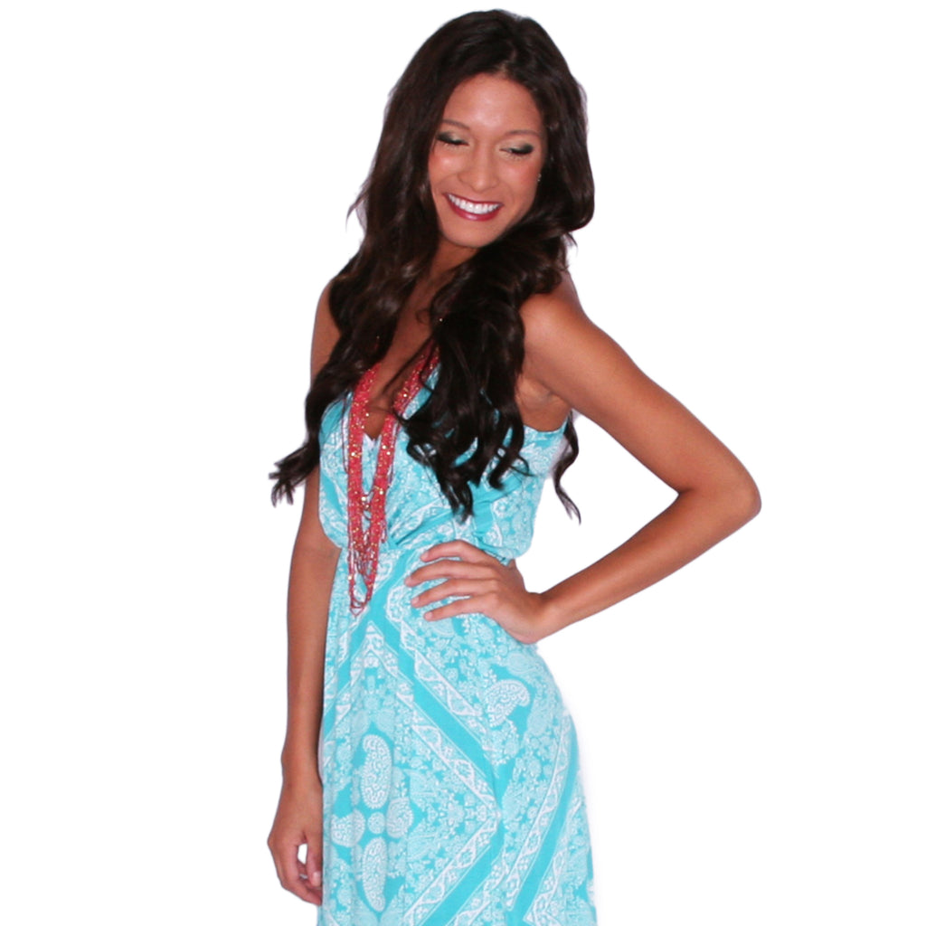 Beachy Waves Maxi in Mint