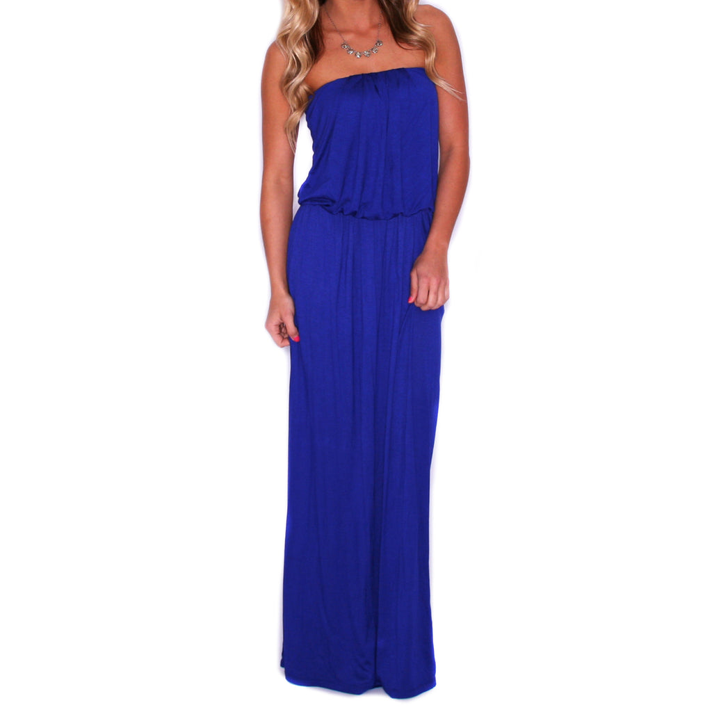 Beachy Waves Maxi Royal Blue