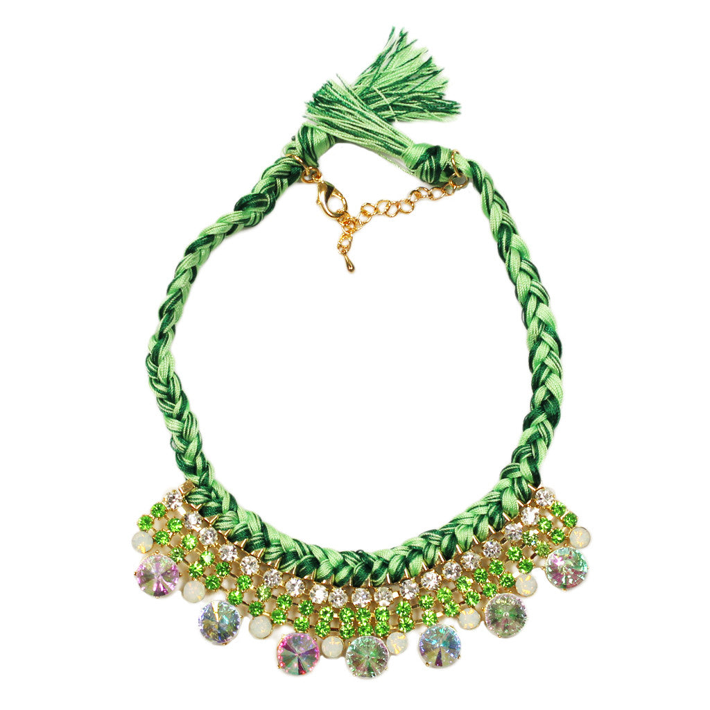 Belize Vacationing Necklace in Green