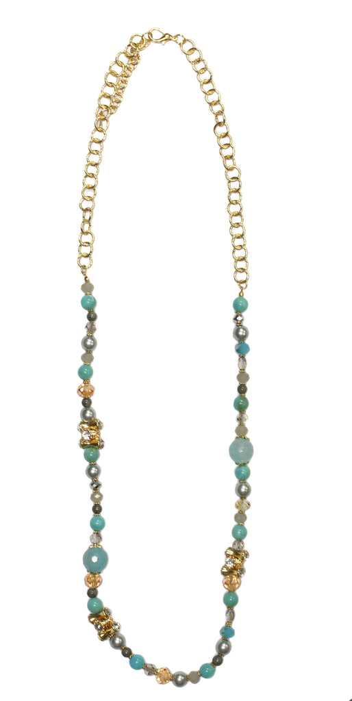 Better Together Necklace in Turquoise